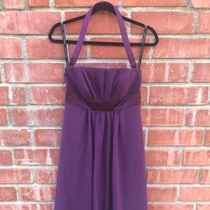 "Alfred Angelo ""Grape"" Bridesmaids Dress"